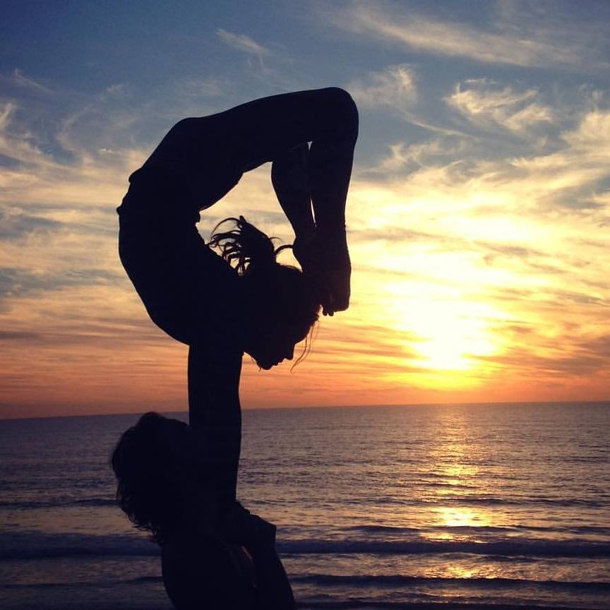 Brittany Taylor Acrobat Hand to Hand Conor with McMillen Sunset